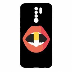 Etui na Xiaomi Redmi 9 Lips and pill