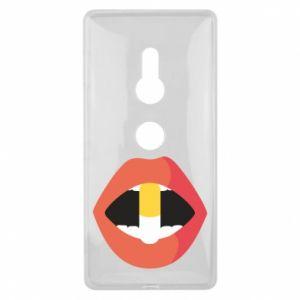 Etui na Sony Xperia XZ2 Lips and pill