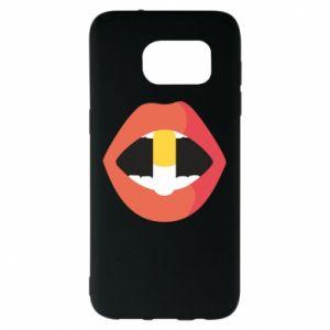 Etui na Samsung S7 EDGE Lips and pill