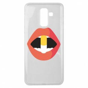 Etui na Samsung J8 2018 Lips and pill