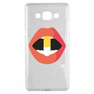 Etui na Samsung A5 2015 Lips and pill