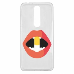 Etui na Nokia 5.1 Plus Lips and pill