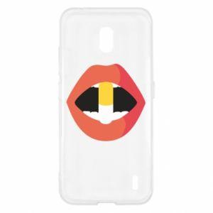 Etui na Nokia 2.2 Lips and pill