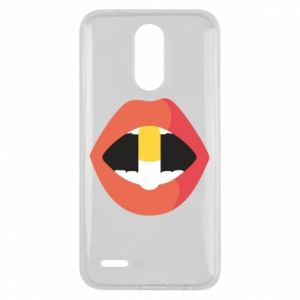 Etui na Lg K10 2017 Lips and pill