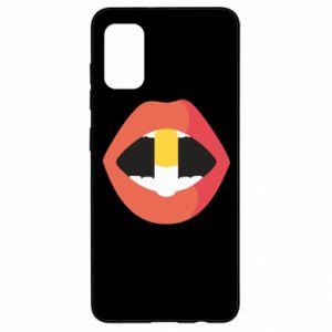 Etui na Samsung A41 Lips and pill