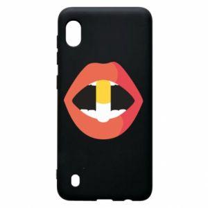 Etui na Samsung A10 Lips and pill