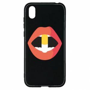 Etui na Huawei Y5 2019 Lips and pill