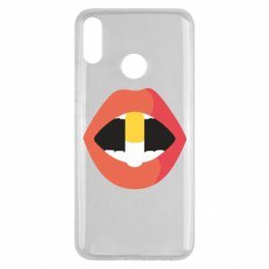 Etui na Huawei Y9 2019 Lips and pill