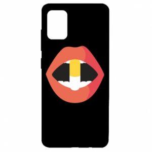 Etui na Samsung A51 Lips and pill