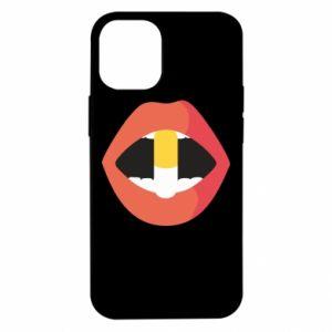 Etui na iPhone 12 Mini Lips and pill