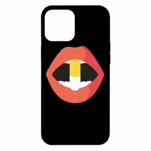 Etui na iPhone 12 Pro Max Lips and pill