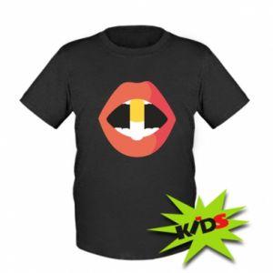 Koszulka dziecięca Lips and pill