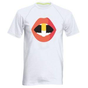 Koszulka sportowa męska Lips and pill