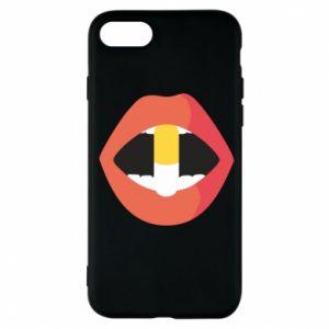 Etui na iPhone 7 Lips and pill