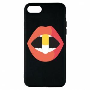 Etui na iPhone 8 Lips and pill
