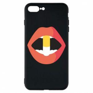 Etui na iPhone 8 Plus Lips and pill