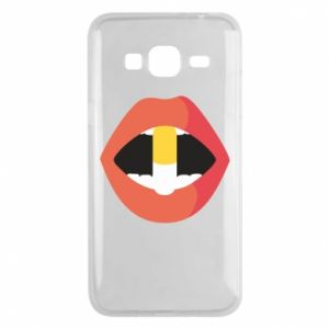 Etui na Samsung J3 2016 Lips and pill