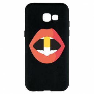 Etui na Samsung A5 2017 Lips and pill