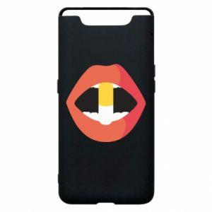 Etui na Samsung A80 Lips and pill