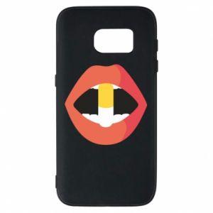 Etui na Samsung S7 Lips and pill