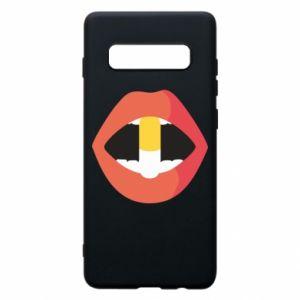 Etui na Samsung S10+ Lips and pill