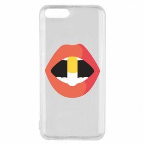 Etui na Xiaomi Mi6 Lips and pill