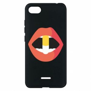 Etui na Xiaomi Redmi 6A Lips and pill