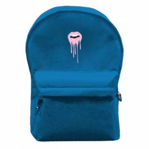Backpack with front pocket Lips