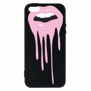 Phone case for iPhone 5/5S/SE Lips
