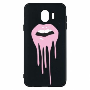 Samsung J4 Case Lips
