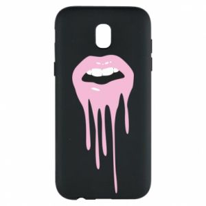 Samsung J5 2017 Case Lips