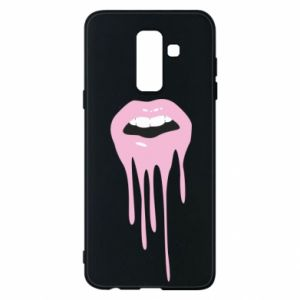 Phone case for Samsung A6+ 2018 Lips