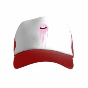 Kid's Trucker Hat Lips