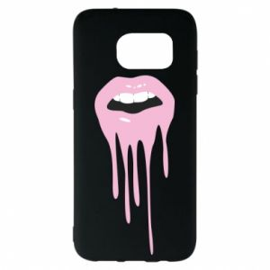 Samsung S7 EDGE Case Lips
