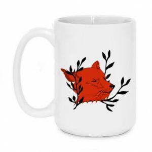 Mug 450ml Fox with closed eyes