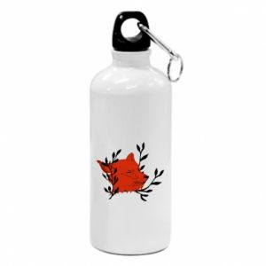Flask Fox with closed eyes