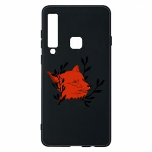 Samsung A9 2018 Case Fox with closed eyes