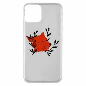 iPhone 11 Case Fox with closed eyes