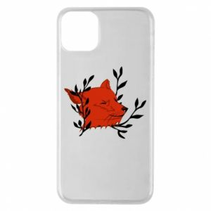 iPhone 11 Pro Max Case Fox with closed eyes