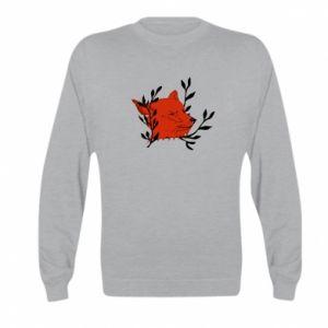 Kid's sweatshirt Fox with closed eyes