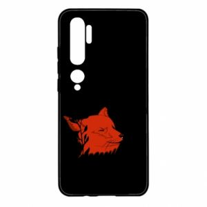 Xiaomi Mi Note 10 Case Fox with closed eyes
