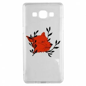 Samsung A5 2015 Case Fox with closed eyes