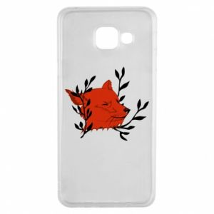 Samsung A3 2016 Case Fox with closed eyes