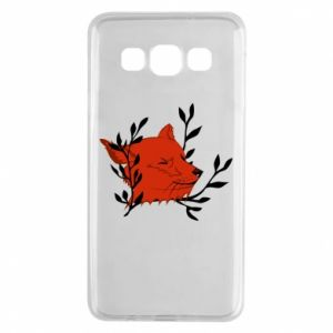 Samsung A3 2015 Case Fox with closed eyes