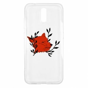 Nokia 2.3 Case Fox with closed eyes
