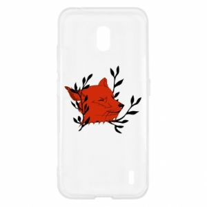 Nokia 2.2 Case Fox with closed eyes