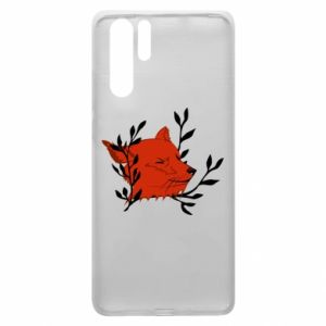 Huawei P30 Pro Case Fox with closed eyes