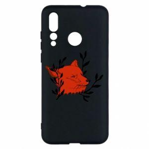 Huawei Nova 4 Case Fox with closed eyes