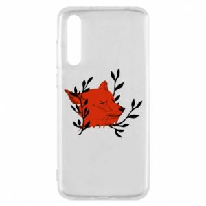 Huawei P20 Pro Case Fox with closed eyes