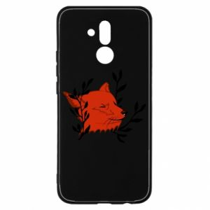 Huawei Mate 20Lite Case Fox with closed eyes